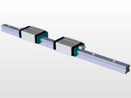 THK HSR20R linear guide & rail