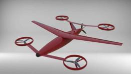 Eagle E-4 VTOL Cargo Drone