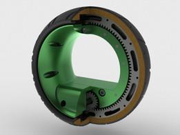 Hubless Wheel MK-I Concept