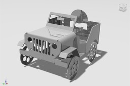 Sheet Metal Jeep