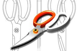 Asymmetric scissors / Tijeras asimétricas