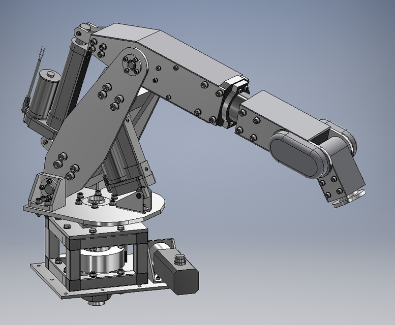 6DOF Robot Arm | 3D CAD Model Library | GrabCAD