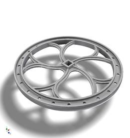 Standard D&RGW Brake Wheel