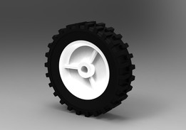 6in Semi_Solid Wheel