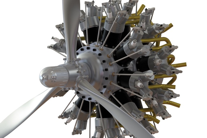 radial engine front diagram radial free engine image for user manual