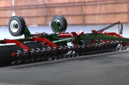 6m Heavy duty soil roller
