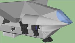 Фотонный грузовик, планетолет типа «Каллисто»