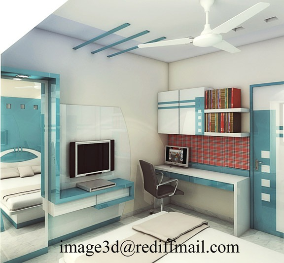 Bed room Design 3D CAD Model Library GrabCAD
