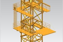 TOWER CRANE -Crane climbing segment-