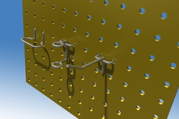 Pegboard and Hooks