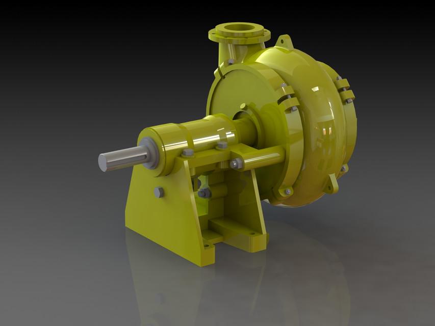 Warman 8/6 EG | 3D CAD Model Library | GrabCAD