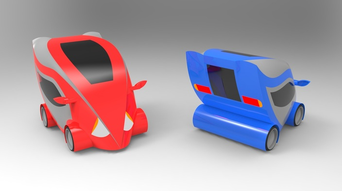 Micro Electric Car Concept