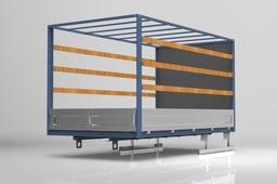 Dry freight truck body