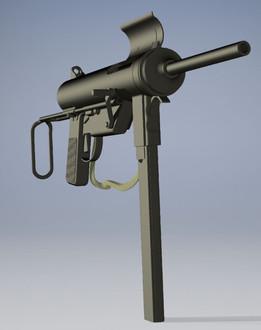 """M3 .45 cal Submachine Gun aka """"grease gun"""""""