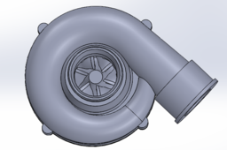 Compressor of a GT1749S Turbocharger