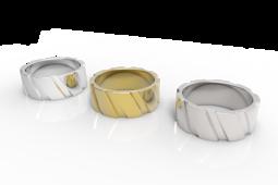 Men's Cut Ring