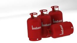 Indane LPG Cylinder