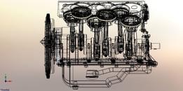 Engine V6 toyota 3VZ FE