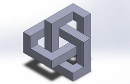 Optical illusion block