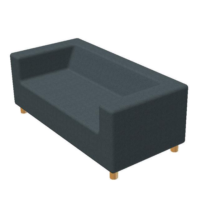 Ikea Klippan Sofa   3D CAD Model Library   GrabCAD