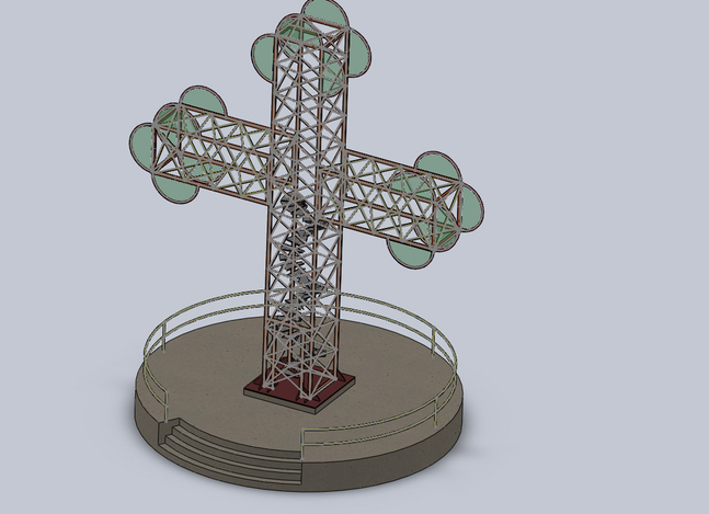 large cross