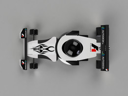 """Race Car of the Future"" F1design automotive autodesk challenge 17"