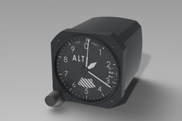Falcon Gauge Sensitive Altimeter
