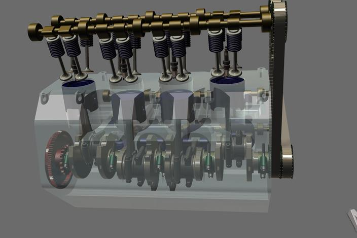 v8 engine cad  v8  free engine image for user manual download