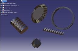 catia parametric gears