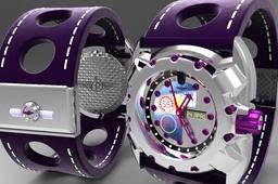 hublot branded timepiece design