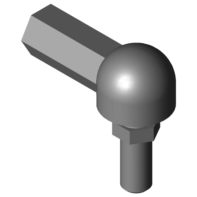Wgrm 06 Lc Ball And Socket Joint 3d Cad Model Library Grabcad