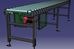 Belt Drive Roller Conveyor