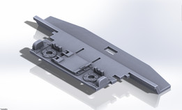 Tamiya 1/35 M4A3E8 Sherman Components