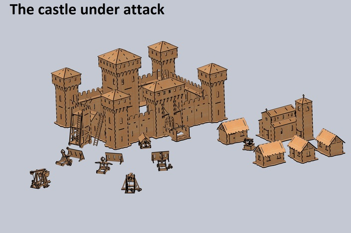 The Castle under attack