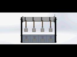Shear Adhesion Tester for pressure sensitive tapes.(Static Shear Load)