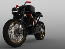 Custom Naked Motorcycle