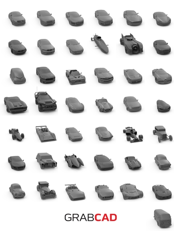 GrabCAD Car Collection