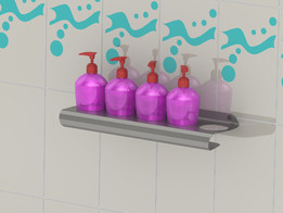 Shampoo shelf