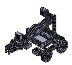 VEX Robotics V5 Clawbot | 3D CAD Model Library | GrabCAD