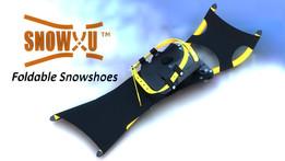 SnowXu foldable snowshoes