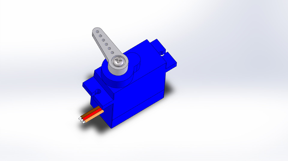 Micro Servo 9g SG90 (Tower Pro) | 3D CAD Model Library | GrabCAD