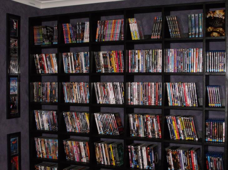 DVD Shelves - SOLIDWORKS - 3D CAD model - GrabCAD
