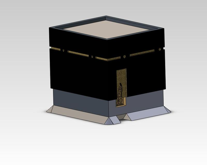 La Ka'ba الكعبة | 3D CAD Model Library | GrabCAD