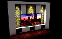TV UNIT WITH NICHE APPLICATION 2