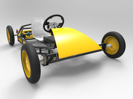 VERSUS electric go-cart