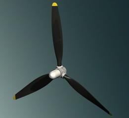 Quickie Propeller - 3 Blader
