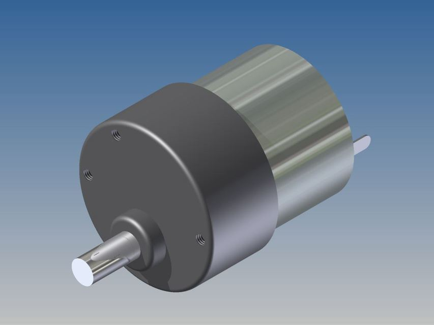 DC Motor with Gearhead 12VDC 74mA