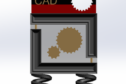 simple grab cad trophy