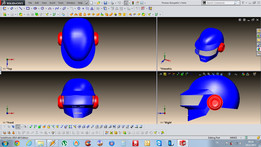 Thomas Bangalter's Helm from Daft Punk