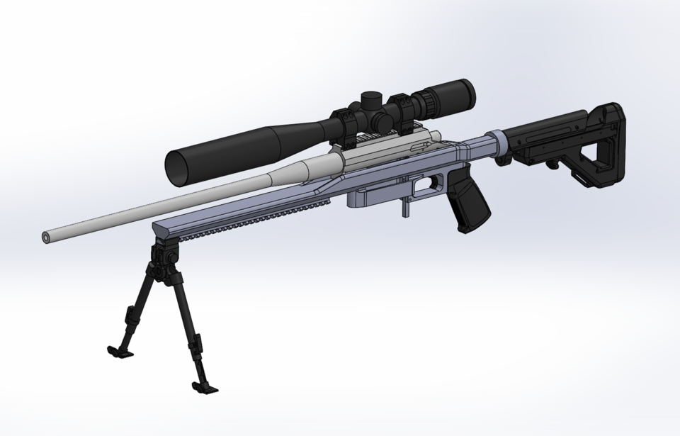 remington 700 - Recent models | 3D CAD Model Collection